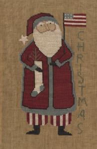 Teresa Kogut XS079 - Santa's Flag