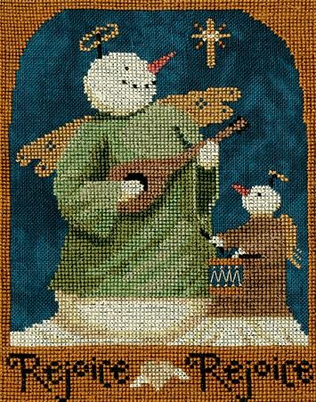 Teresa Kogut XS291 Rejoice rejoice Snowman