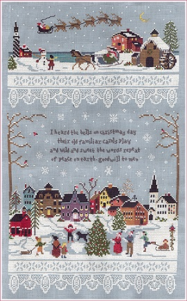 The Victoria Sampler Christmas Village
