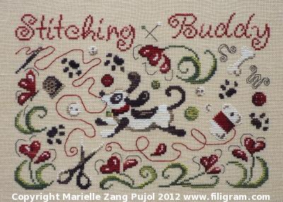 Filigram Stitching Buddy,A62