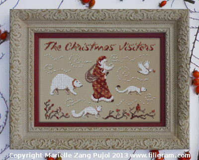 Filigram Christmas visitors,A78