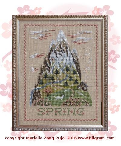 Filigram Spring mountain, A110