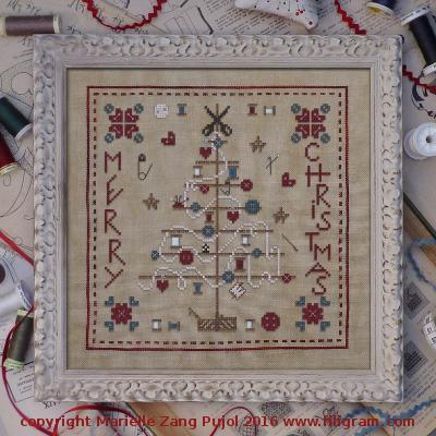 Filigram Reels Christmas tree, A114