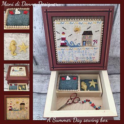 Mani di Donna Summer day sewing box