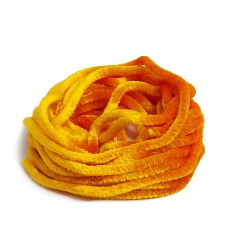 Au Ver A Soie ® Silk Satin Chenille 544 English mustard
