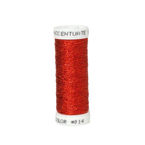 Accentuate Metallic Thread - 014 Red