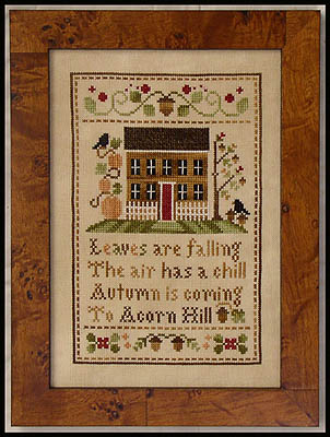 Acorn hill by Little House of Needlework