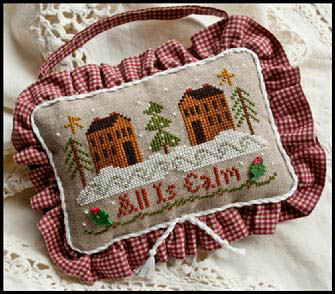 All is calm by Little House of Needleworks