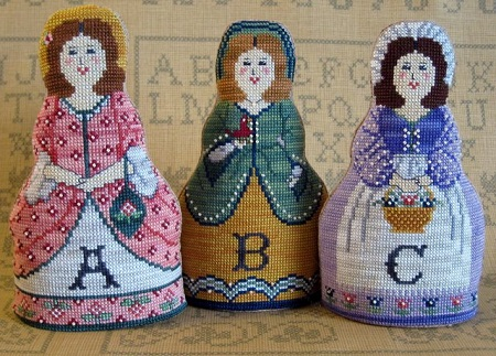 Alphabet Dolls by The Needle's Notions