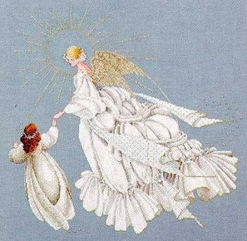 Angel of Mercy-LL28- cross-stitch chart