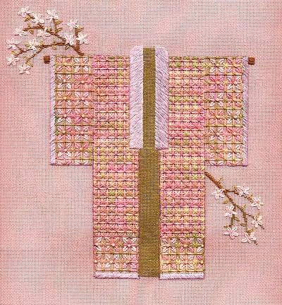Apple Blossom Kimono by Laura J. Perin Designs