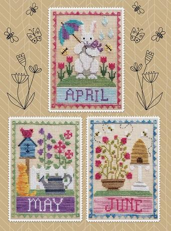 Waxing Moon Designs April, May, June