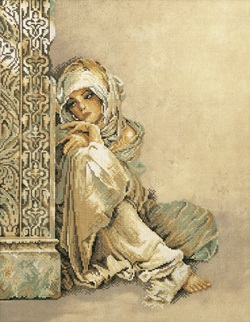 Arabian woman by Lanarte