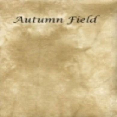 Silkweaver Fabric - Autumn Field