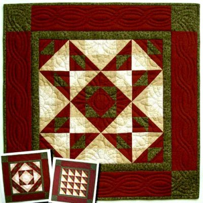 Autumn Star kit by Rachael's of Greenfield