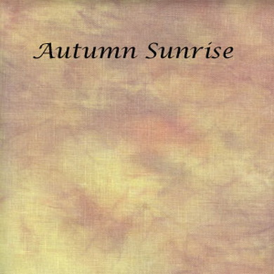 Silkweaver Fabric - Autumn Sunrise