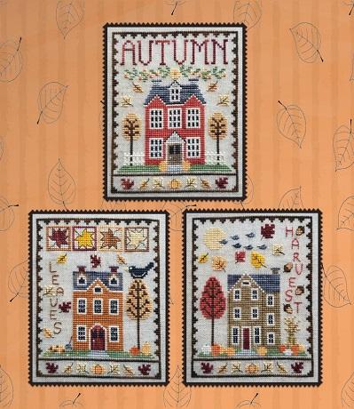 Waxing Moon Designs Autumn house trio
