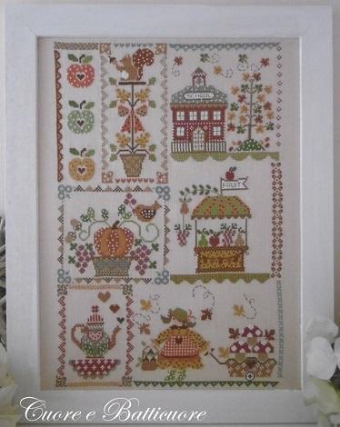 Cuore e Batticuore Autumn in quilt