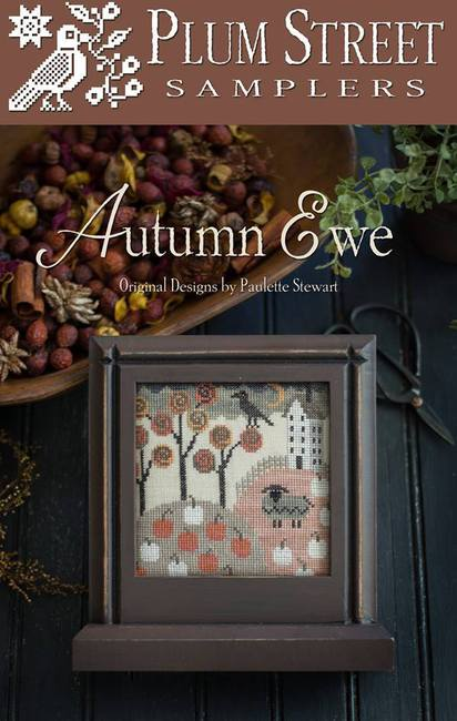 Autumn Ewe by Plum Street Samplers