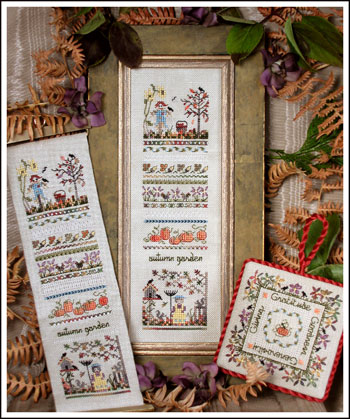 Autumn Garden Sampler by The Victoria Sampler