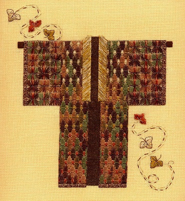 Autumn Leaf Kimono by Laura J. Perin Designs
