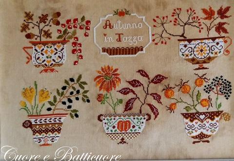 Cuore e Batticuore Autunno In Tazza (Autumn In Cup)