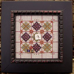 Alphabet Baubles-Q Is For Quilt by Samsarah Design Studio