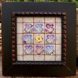 Samsarah Design Studio Alphabet Baubles-V Is For Violet