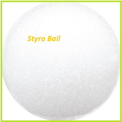 3 Styrofoam Ball for pincushion