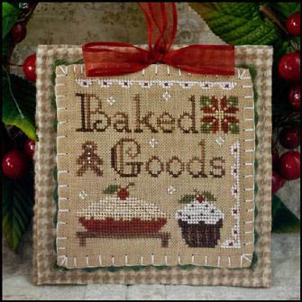 Baked goods by Little House of Needleworks
