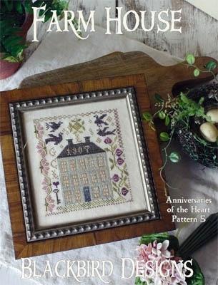 Blackbird Designs BD193  Farm House - Anniversaries of the Heart #5