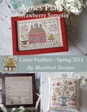 Blackbird Designs BD222 Agnes Platt's Strawberry Sampler