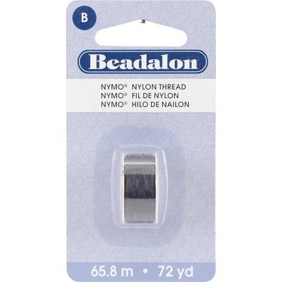 Beadalon Black Nymo thread