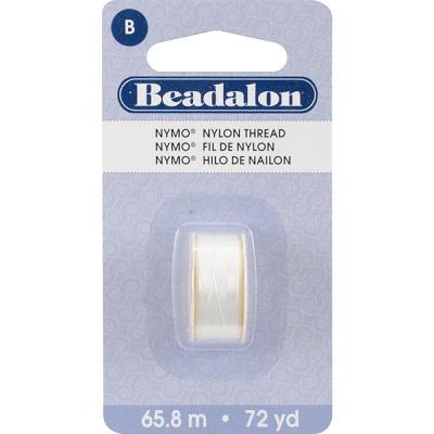 Beadalon White Nymo thread