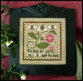 Bee sampler by Little House of Needleworks