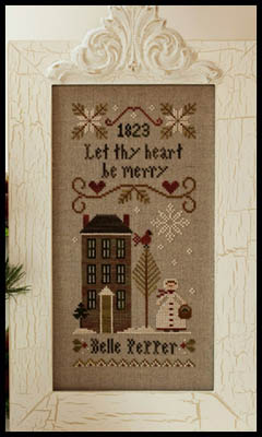 Be Merry-Belle pepper by Little House of Needleworks