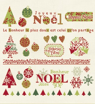 Fiche 'idee' Noel by Lili Points