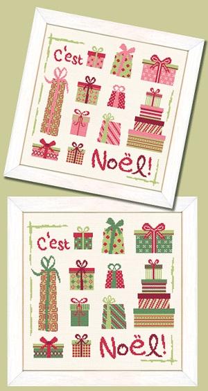 Les Paquets de Noel by Lili Points