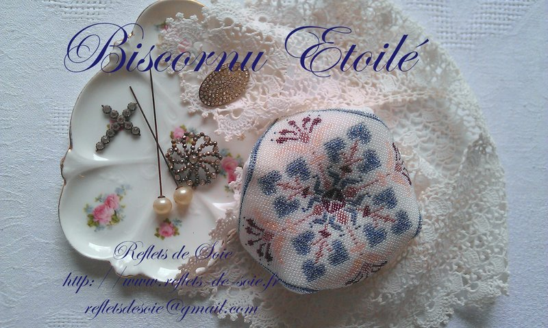 Biscornu Etoile by Reflets de Soie