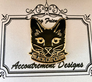 The Black Cat needle minder by Acoutrement Designs