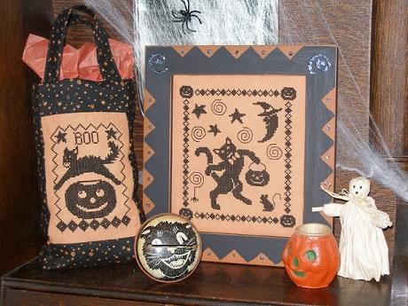 Waxing Moon Designs Black cat's halloween