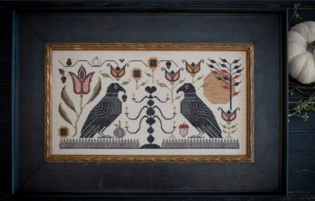Blackbird Fraktur by Plum Street Samplers