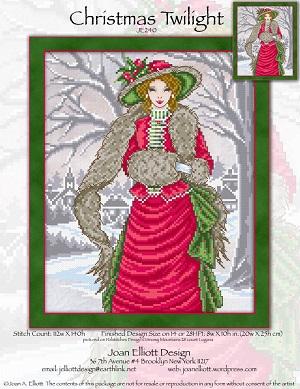 Christmas twilight by Joan Elliott