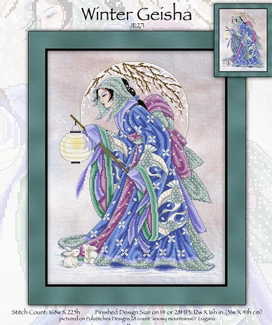 Joan Elliott Winter Geisha
