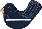 MILL HILL SPRING BIRD BELL PULL,BPSB