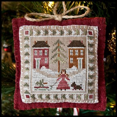 Little House of Needleworks Bringing home the Tree