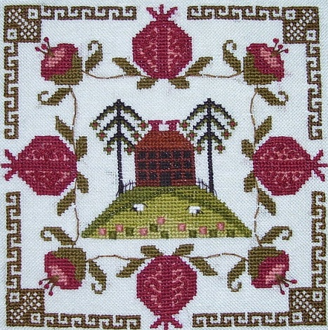By the Bay Needleart Pomegranate Estate