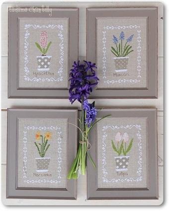 Bulbes De Printemps (Spring Bulbs) by Madame Chantilly