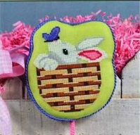 Pepperberry Designs Bunny basket
