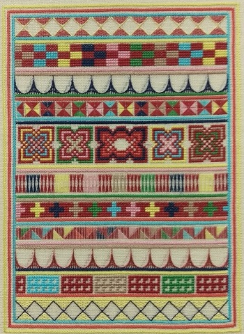 Textured Treasures Burmese Inspiration - cross stitch and counted thread